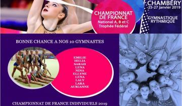 Photo CHAMPIONNAT DE FRANCE INDIVIDUEL GR