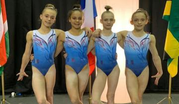 Photo LOLA BRILLENT À L'INTERNATIONAL GYMNIX !