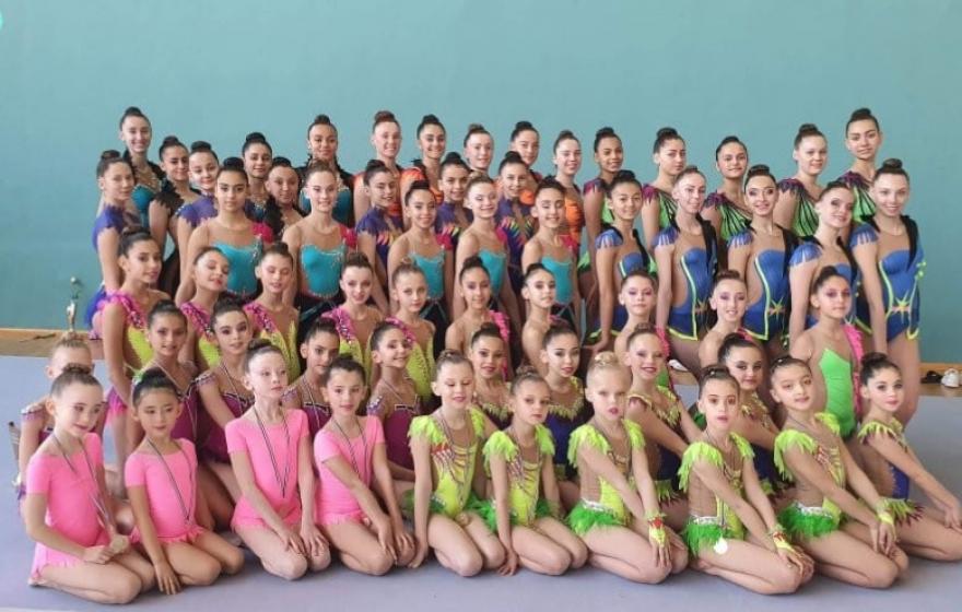 Championnat départemental   FFGym en Gymnastique Rythmique